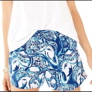 Lily Pulitzer Keep on Trunkin' (Elephant) Shorts